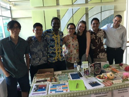 SII at JABSOM Community Health Fair