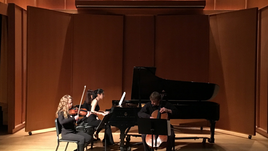 Trio Performance with Thalia Coombs (Violin) and Kyle Price (Cello)