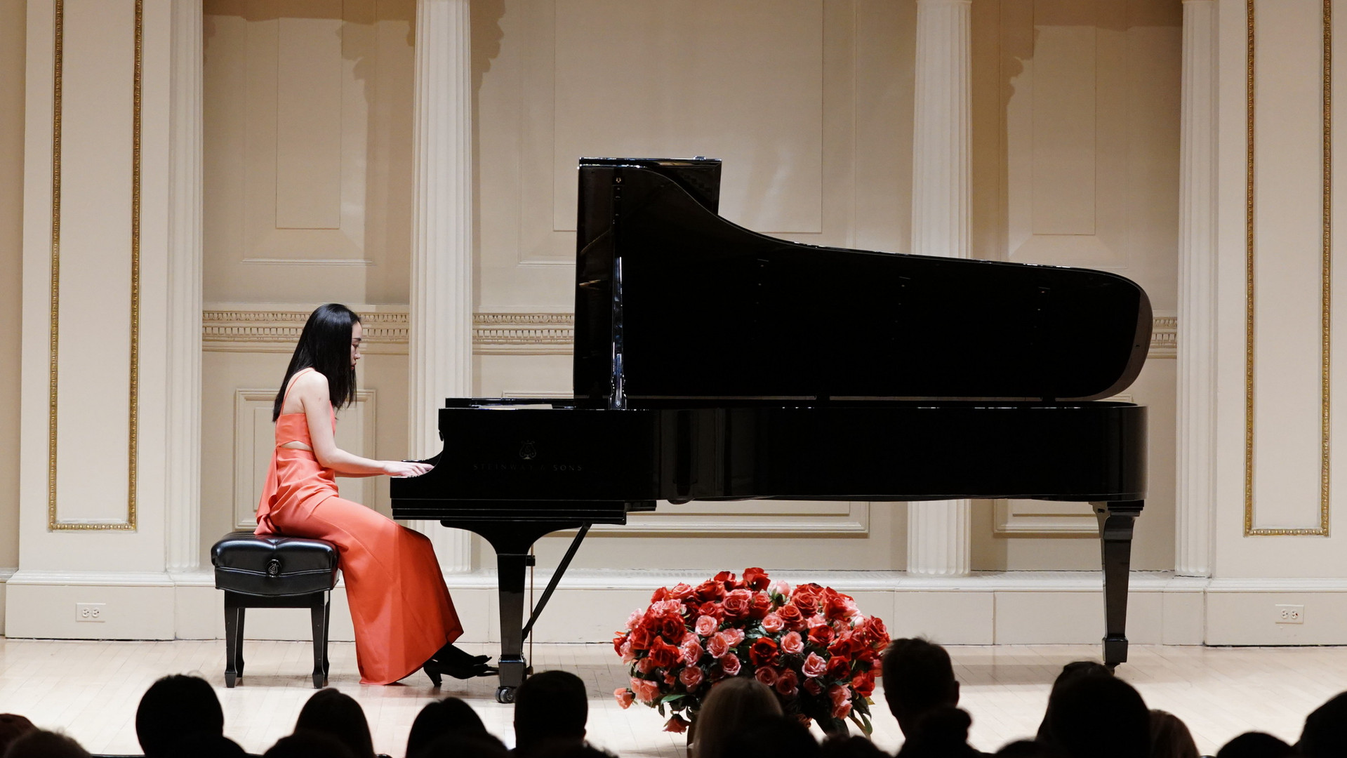 Solo Performance in Carnegie Hall.