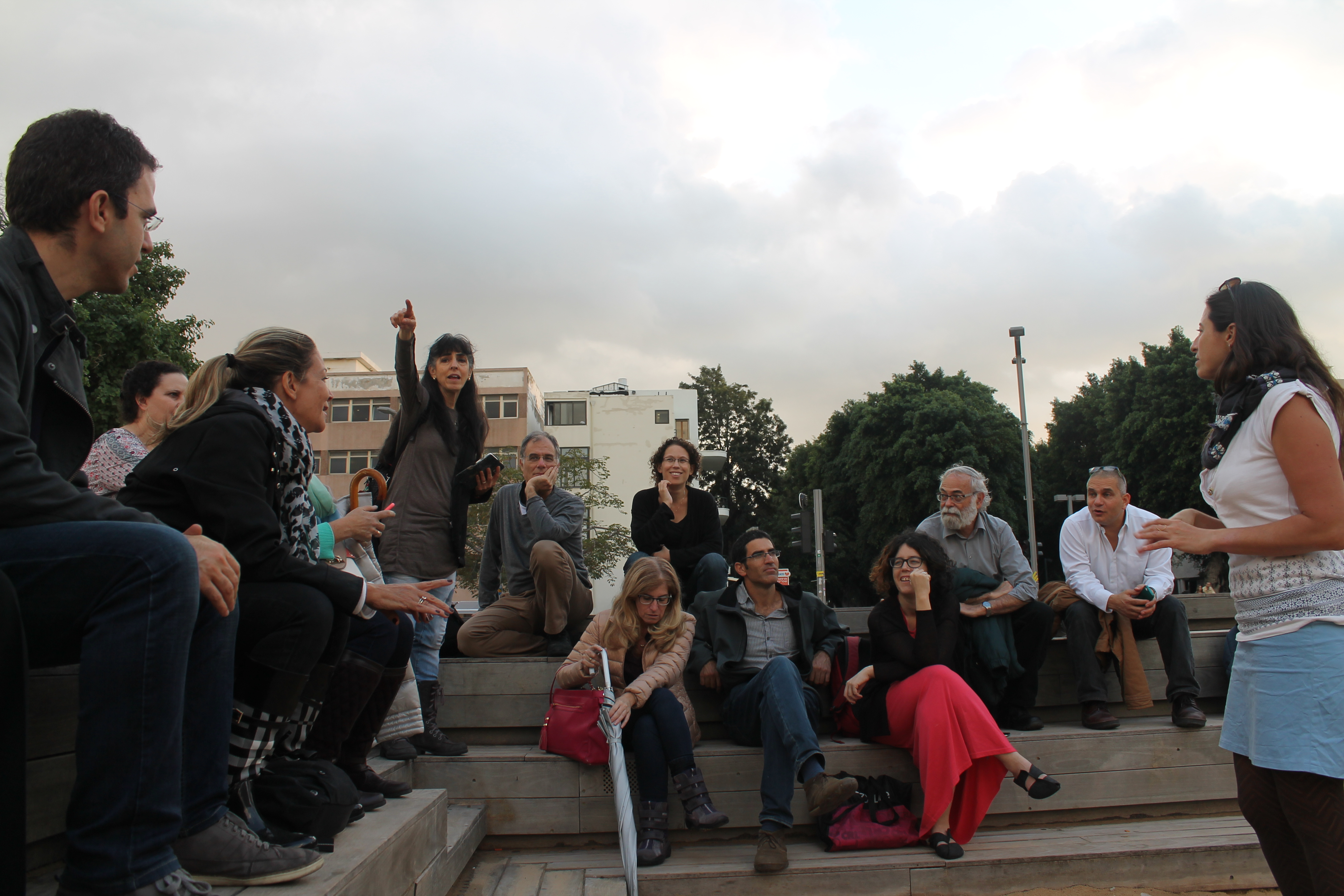 סיור עירוני מפגש שלישי 17.11.15