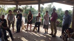 Learning tour in Ramat Hanadiv