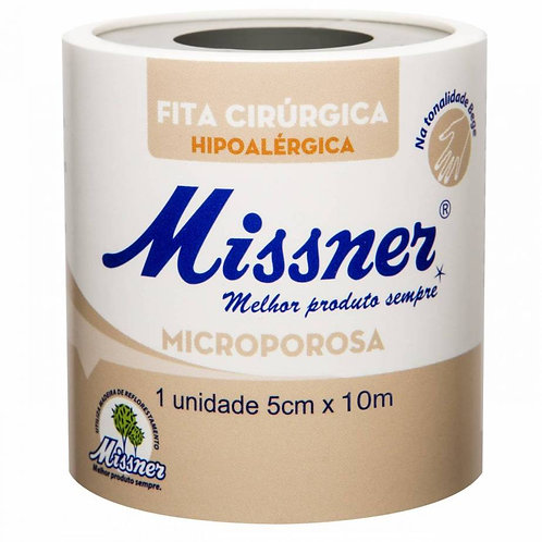 Fita Microporosa Bege 5cm x 10m MISSNER