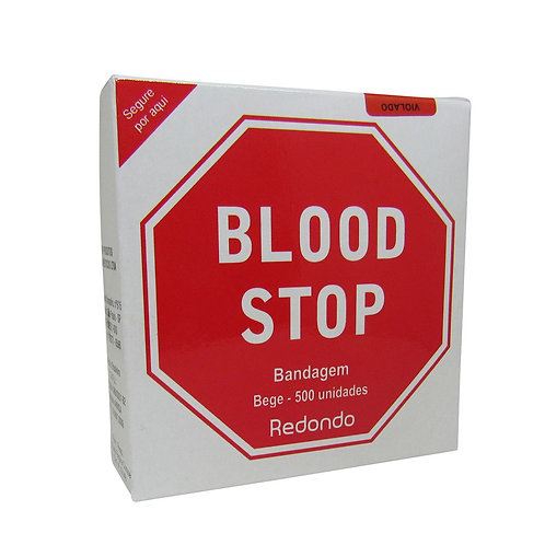 Bandagem Blood Stop C/500 AMP