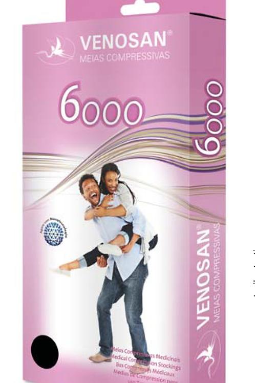 Meia Compressiva 20-30 mmHg 6000 3/4 VENOSAN