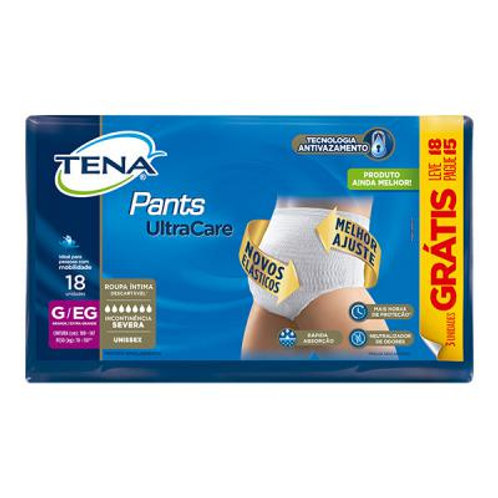 Fralda Pants Ultra Care TENA