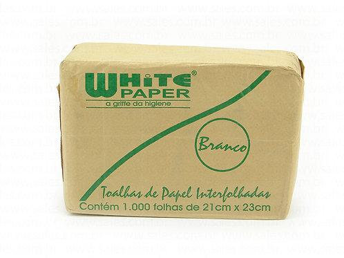 Toalha de Papel Interfolhado Branco WHITE PAPER