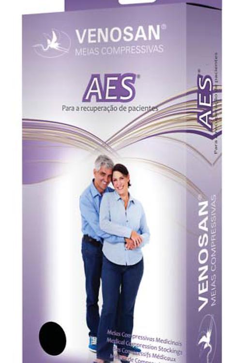 Meia Compressiva Anti-Trombo 7/8 AES VENOSAN