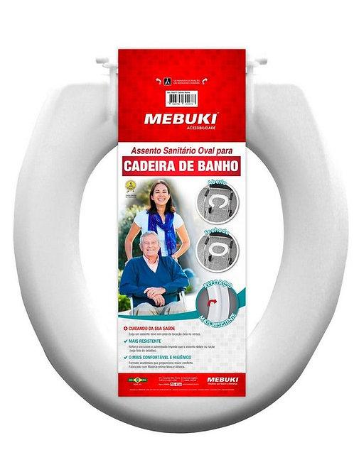 Assento Sanitário Oval para Cadeira de Banho MEBUKI