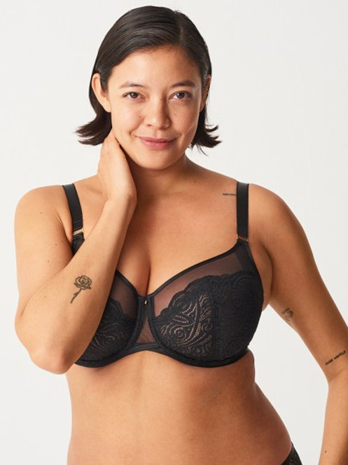 Chantelle Pyramide Lace Full Cup Bra