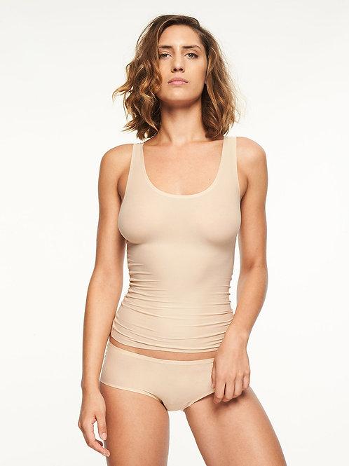 Chantelle Beige Soft Stretch Vest Top