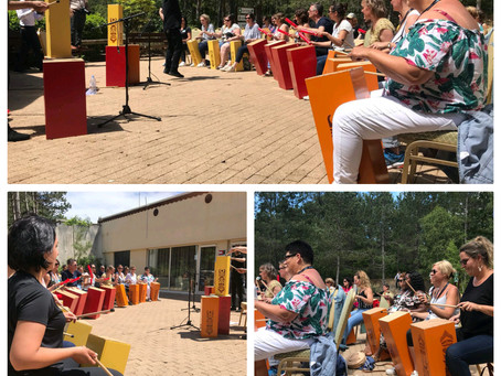 Team Building percussions - ENERGY'Drums - Team Cuba