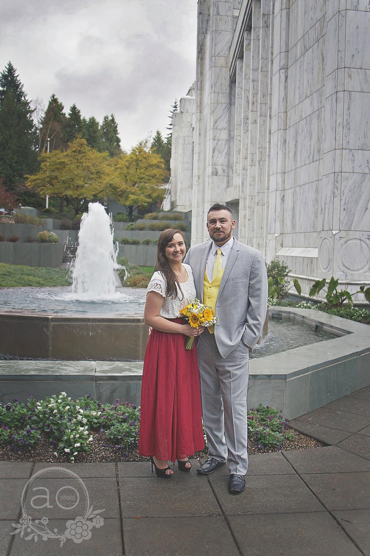 Portland Family Photography | Portland Oregon Temple
