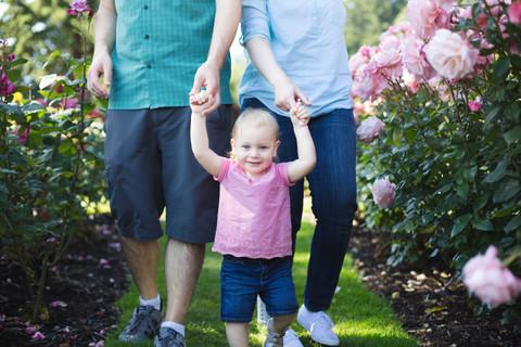 Obedowski Family Session | Rose Gardens