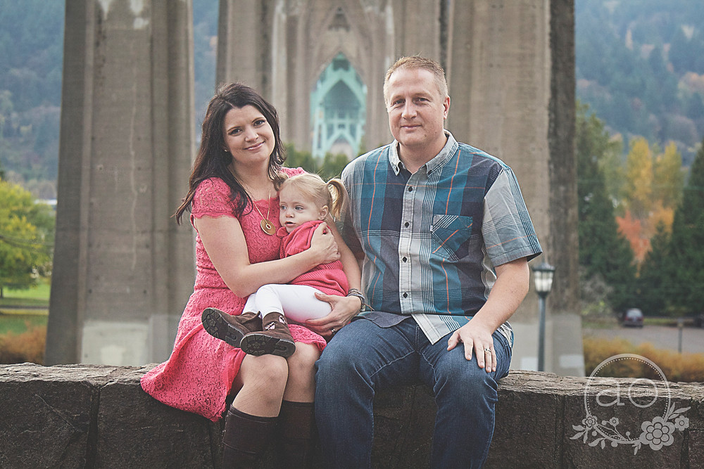 Portland Family Photography | Cathedral Park