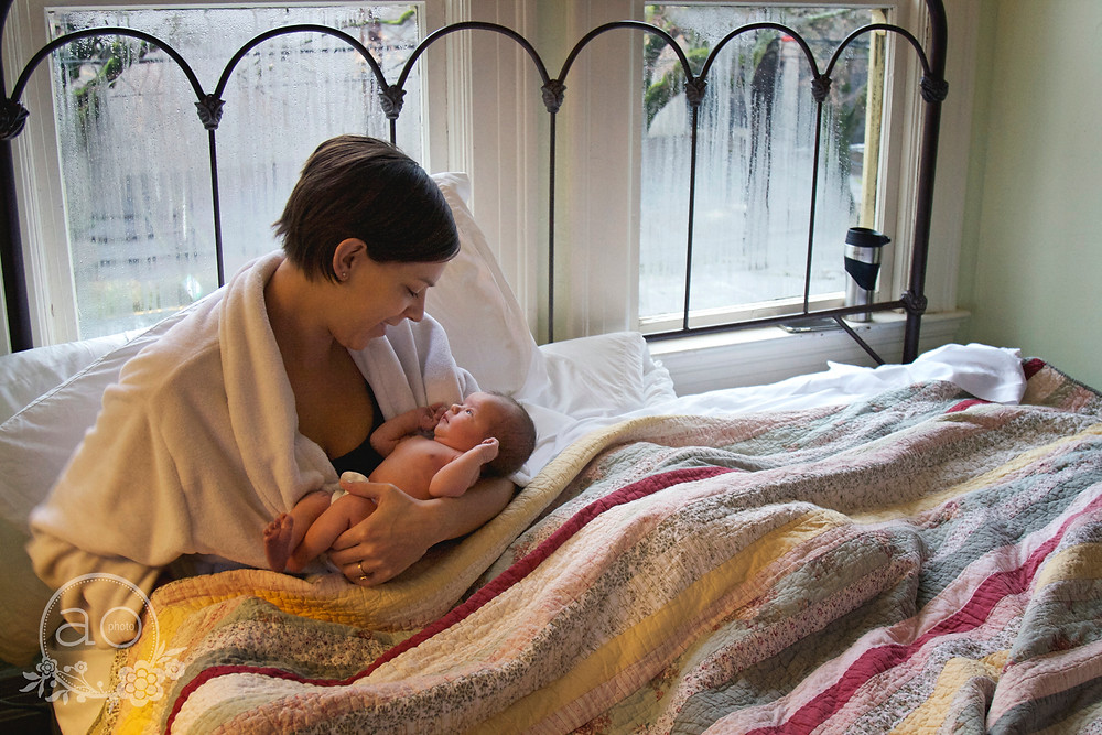 Portland Newborn Photography | Alma Birthing Center