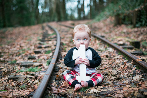 Colton is One! | Woodsy One Year Session | Forest Park, Oregon