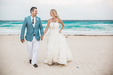 Heather + Travis Married | Cancun, Mexico Destination Wedding | Beach Wedding