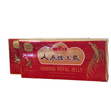GINSENG COM GELEIA REAL (GINSENG ROYAL JELLY) CONTEM 10 FRASCOS