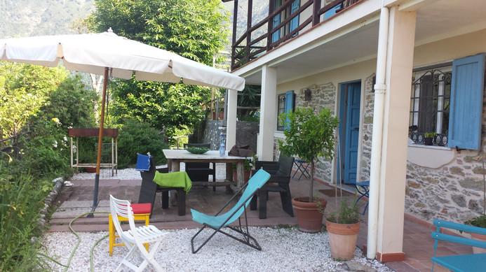 Campo dell'Altissimo. Auch ein Platz zum Entspannen.