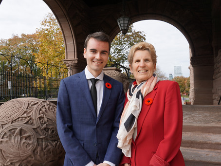 Placement Posts - Jeremy with MPP Kathleen Wynne