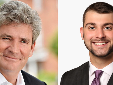 Placement Posts - Eric with MPP John Fraser