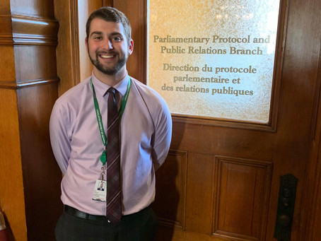 Placement Posts - Eric in Parliamentary Protocol and Public Relations
