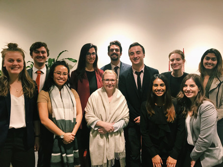 OLIP Meets with CIBC