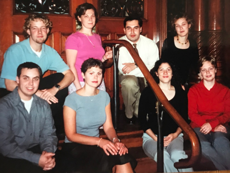 Historical Feature - 2000-2001 interns