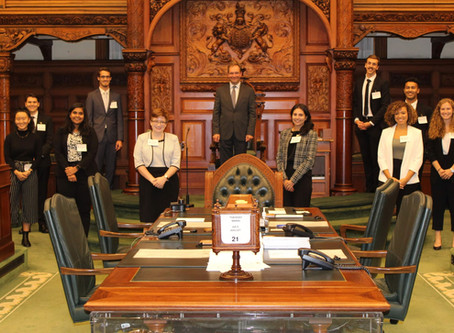 meeting with the Speaker of the  Legislative Assembly of Ontario