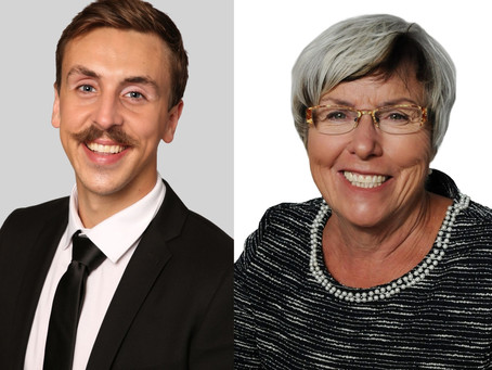 Placement Post- Alex with MPP Judith Monteith-Farrell