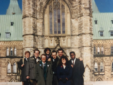 Historical Feature- 1990-91 OLIP Interns