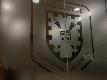 Placement Posts - Kieran with the Legislative Protective Service