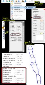 GEM4D Calculation Hydraulic Radius (HR)