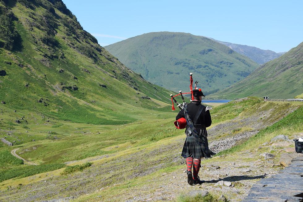 Bettyhill Scottish Highlands Bagpipes
