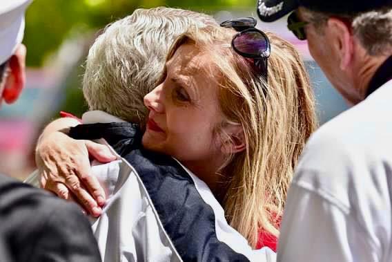 Francoise Bergan for Aurora City Council_Hug