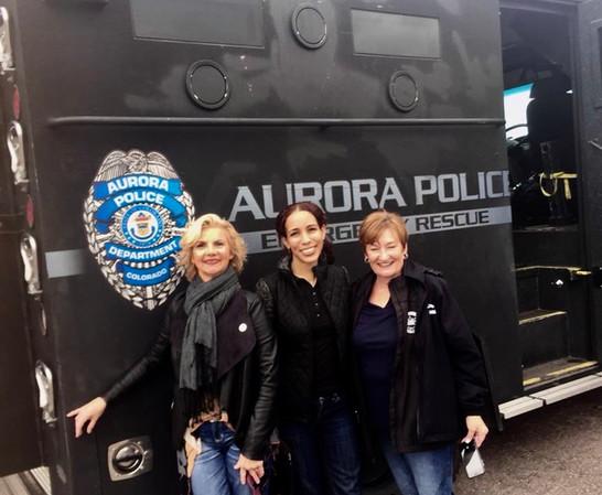 Francoise Bergan for Aurora City Council_Police Rescue Van