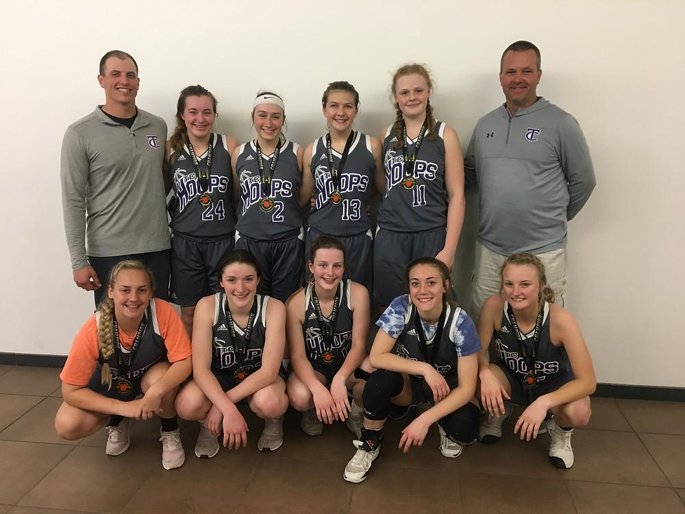 2019 Hoopmaster Varsity Girls Champions- TC Hoops