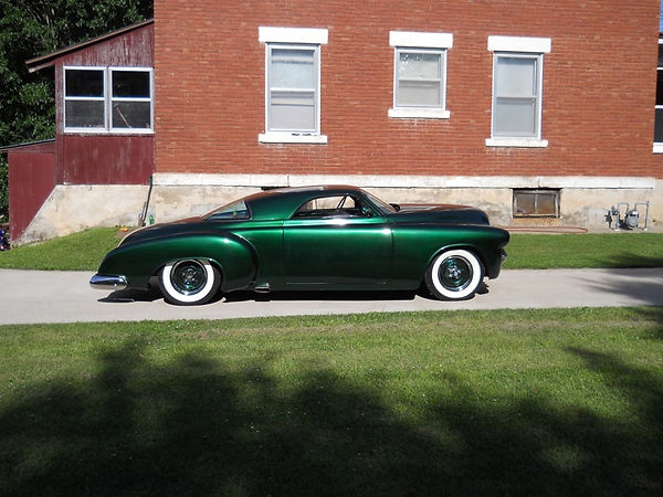 One of Rick's Custom Rides that he built with walls