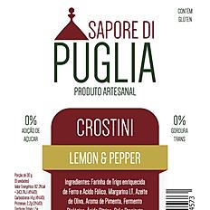 Crostini Lemon & Pepper