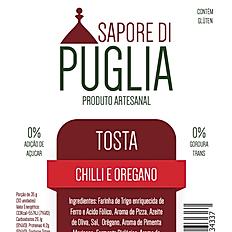 Tosta Chilli e Orégano