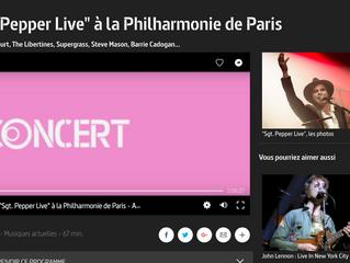 22 octobre 2017 Sgt. Pepper Live à la Philharmonie de Paris