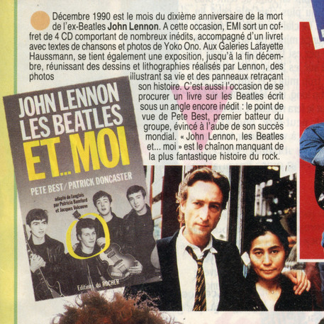 john Lennon Les Beatles et moi