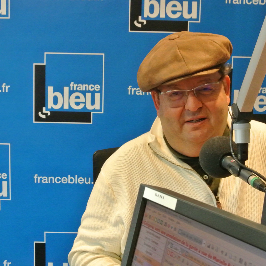 Intervention à France Bleu