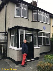 Liverpool août 2018 devant Mendips à Menlove Avenue la maison de John Lennon