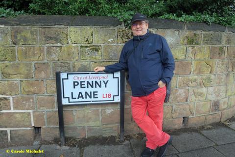 Liverpool août 2018 Penny Lane