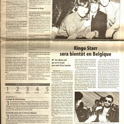 Les Beatles en 294 chansons La Dernière Heure mardi 2 juin 1998