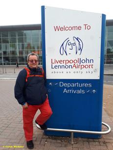 Liverpool août 2018 John Lennon airport