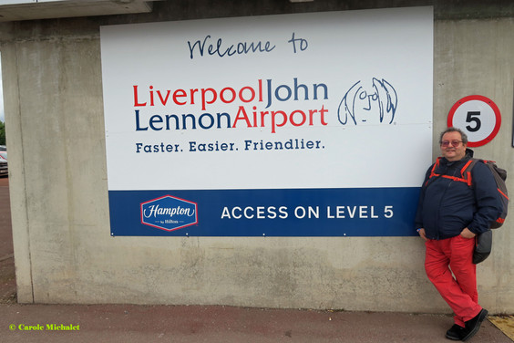 Liverpool John Lennon airport août 2018