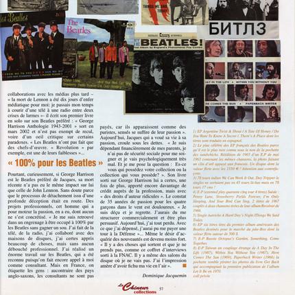 Interview Jacques Volcouve  Le Chineur octobre 2002