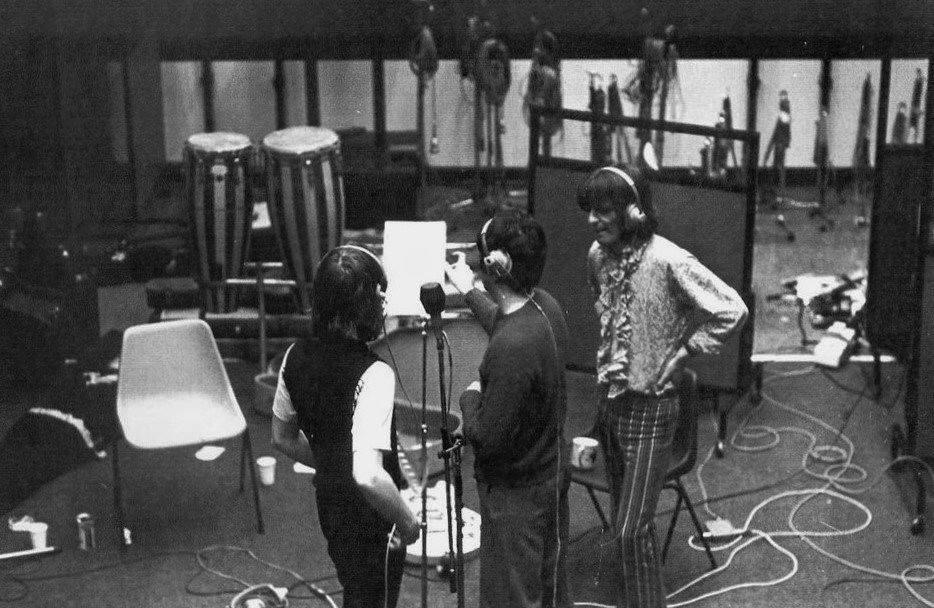 Septembre 1968 Studios Trident (photo Tony Bramwell)